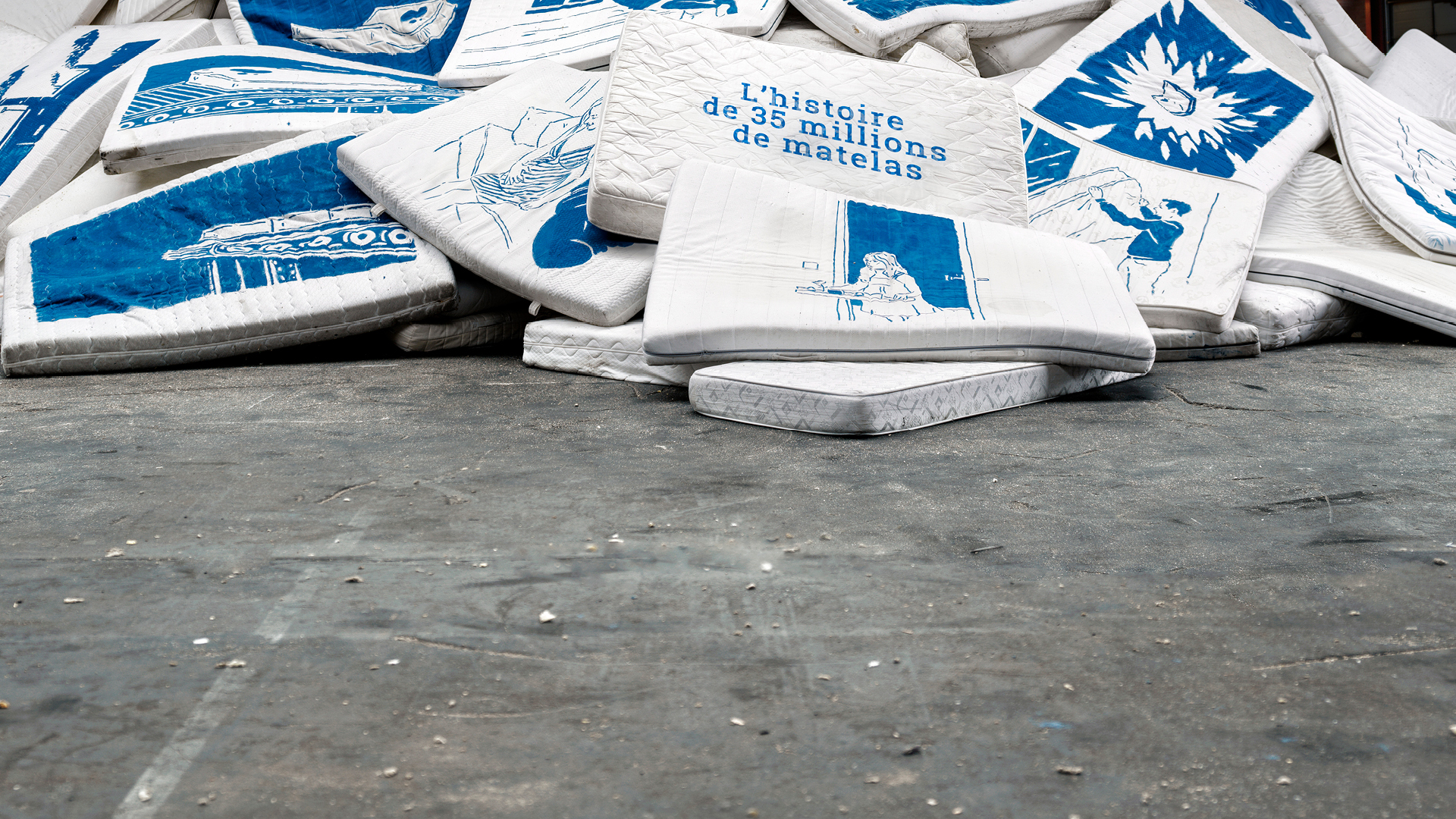 Chaque année, 35 millions de matelas sont jetés en Europe