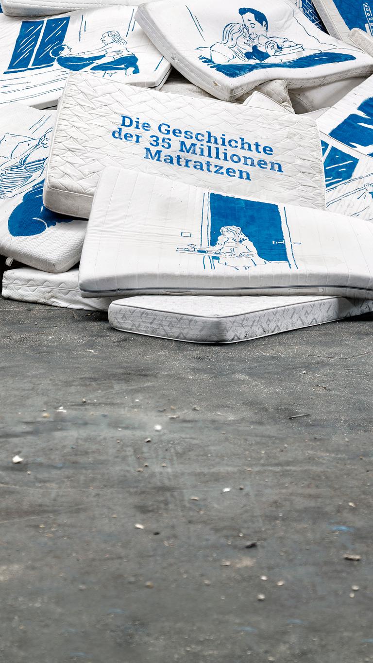 Jährlich werden 35 Mio. Matratzen weggeworfen