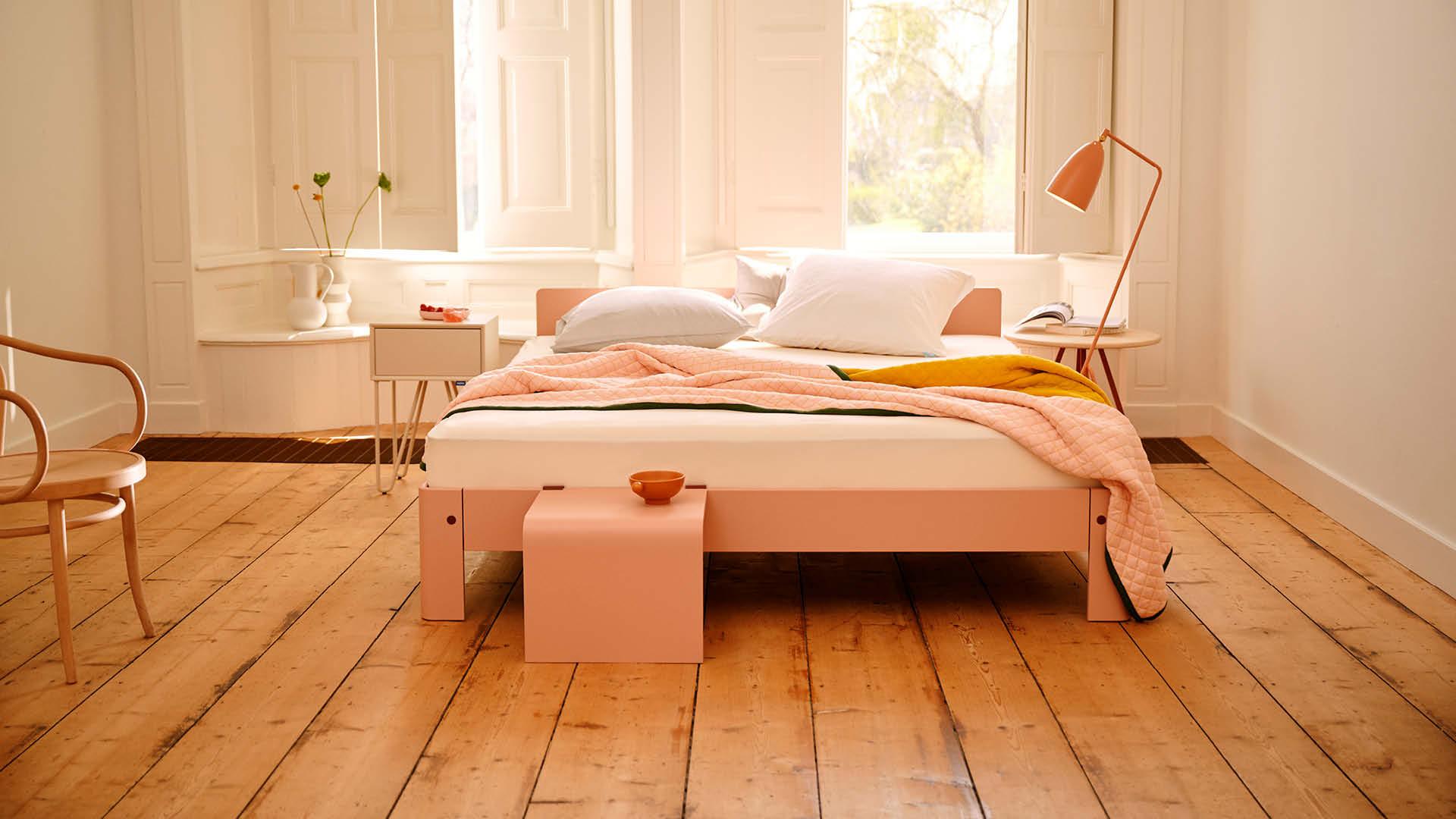 Auronde bed roze