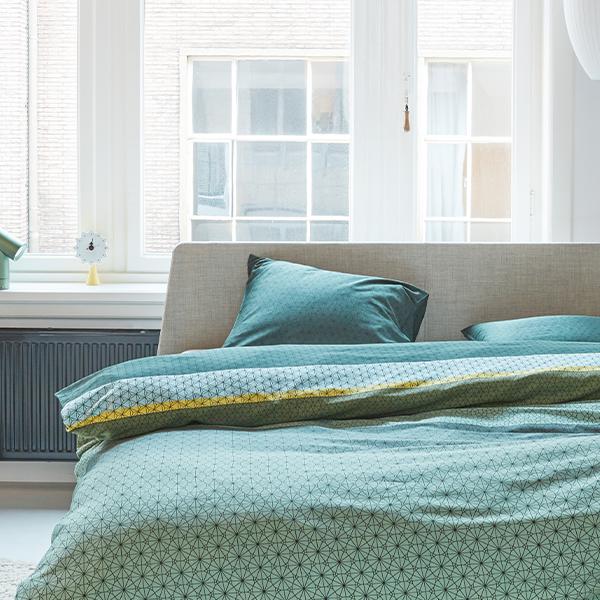 Barnaby dekbedovertrek op essential bed