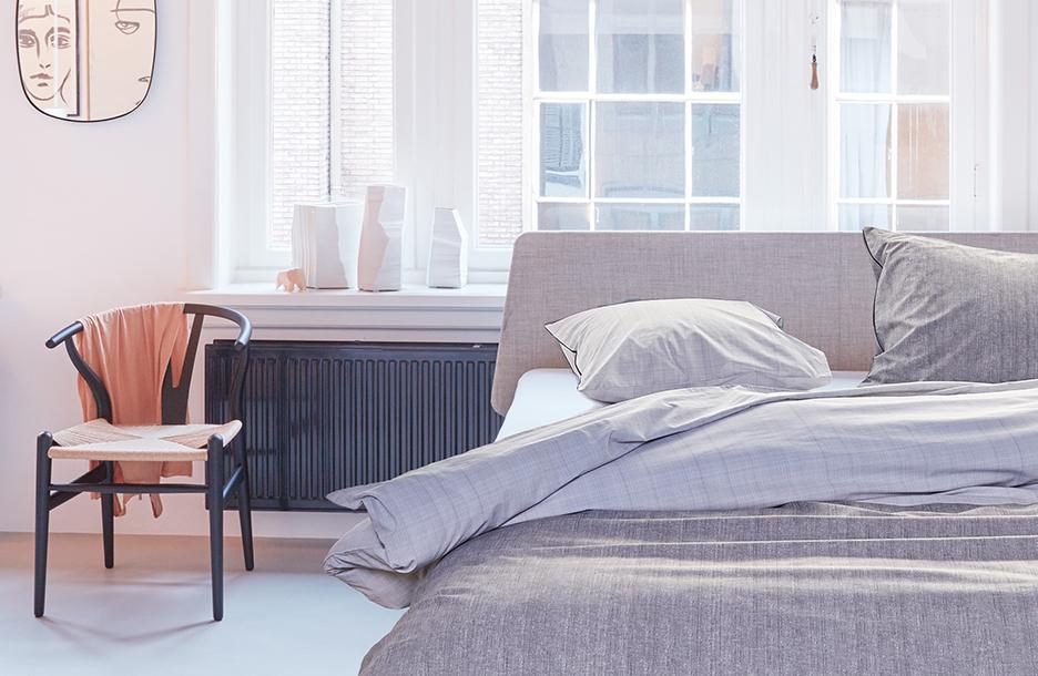 Cardigan dekbedovertrek op essential bed