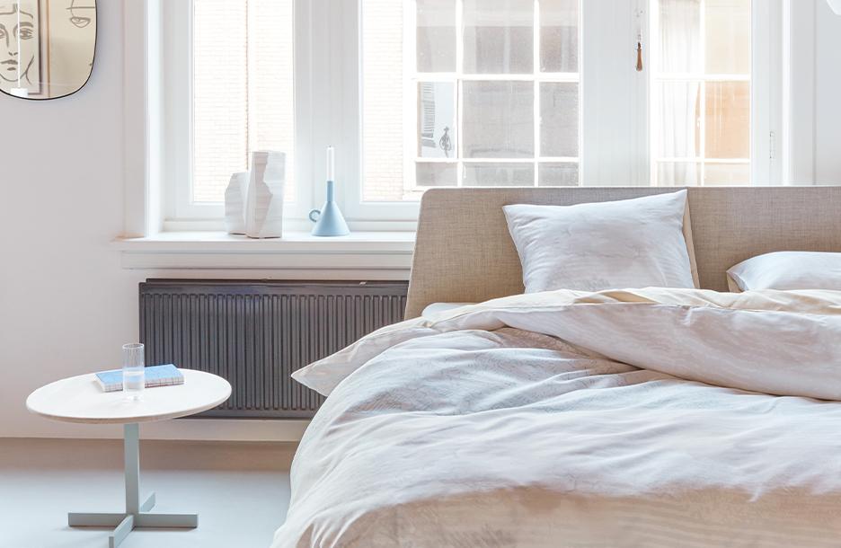 Nimbus dekbedovertrek op Essential bed