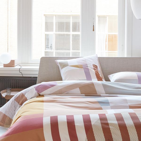 Trinity dekbedovertrek op Essential bed